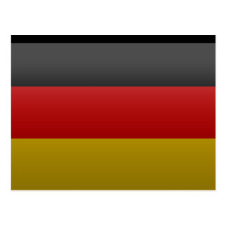 flag of the Federal Republic of Germany Postcard