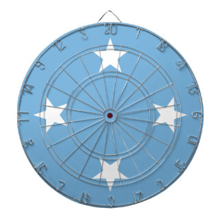 Flag of the Federated States of Micronesia Dartboard