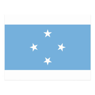 Flag of the Federated States of Micronesia Postcard