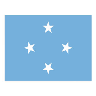Flag of the Federated States of Micronesia Post Cards