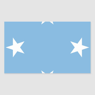 Flag of the Federated States of Micronesia Sticker