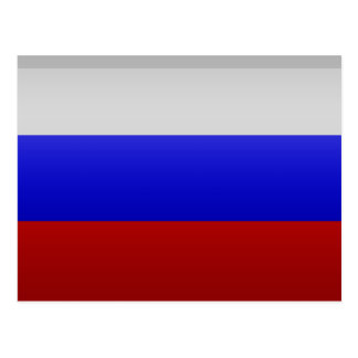 Flag of the Federation of Russia Postcard