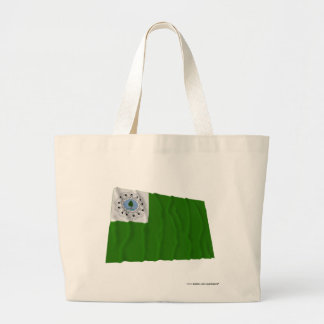 Flag of the Independent Company of Newburyport Jumbo Tote Bag