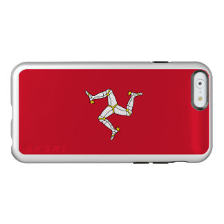 Flag of the Isle of Man Silver iPhone Case Incipio Feather® Shine iPhone 6 Case