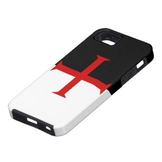 Flag of the Knights Templar iPhone 5 Case