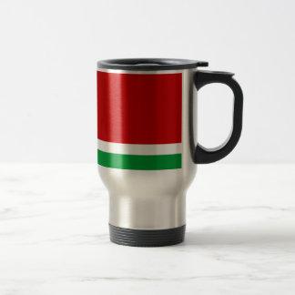 Flag of the Lithuanian SSR - Lietuvos TSR Veliava Travel Mug