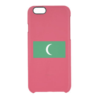 Flag of the Maldives Clear iPhone Case