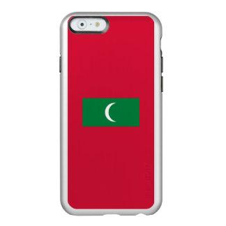 Flag of the Maldives Silver iPhone Case Incipio Feather® Shine iPhone 6 Case