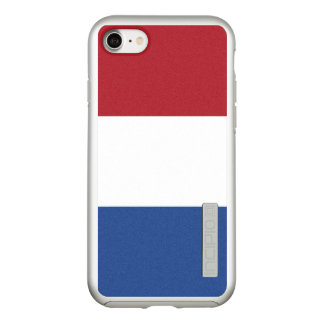 Flag of the Netherlands Silver iPhone Case