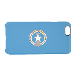 Flag of the Northern Mariana Is. Clear iPhone Case