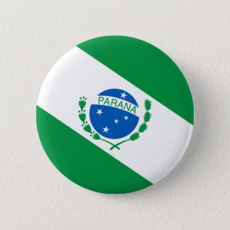 Flag of the Paran3a Brazil 2 Inch Round Button