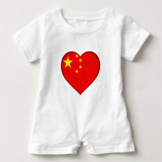 Flag of the People's Republic China Baby Romper