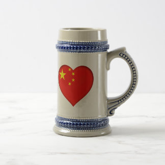 Flag of the People's Republic China Beer Stein