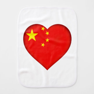 Flag of the People's Republic China Burp Cloth