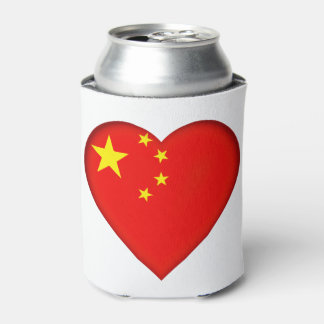 Flag of the People's Republic China Can Cooler