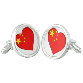 Flag of the People's Republic China Cufflinks