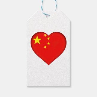Flag of the People's Republic China Gift Tags