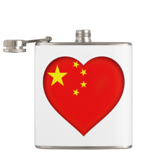 Flag of the People's Republic China Hip Flask