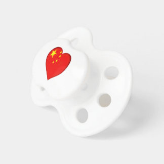 Flag of the People's Republic China Pacifier
