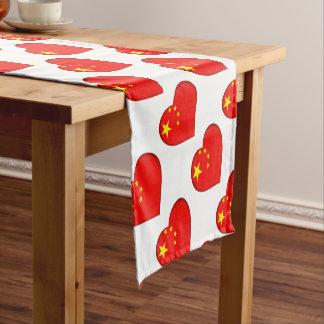 Flag of the People's Republic China Short Table Runner