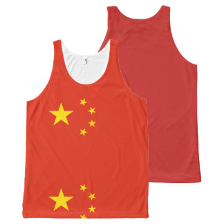 Flag of the People's Republic of China - 中华人民共和国国旗 All-Over-Print Tank Top