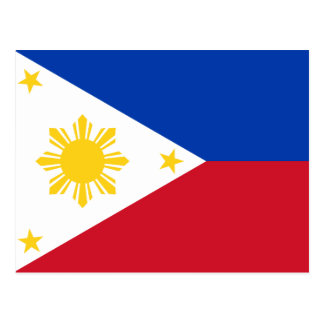 Flag of the Philippines Postcard