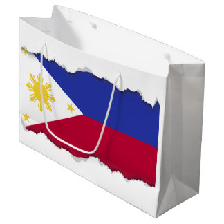 Flag of the Phillipines Large Gift Bag