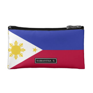 Flag of the Phillipines Makeup Bag