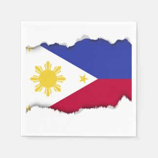 Flag of the Phillipines Napkin