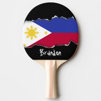 Flag of the Phillipines Ping Pong Paddle