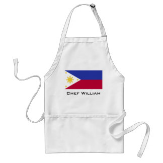 Flag of the Phillipines Standard Apron