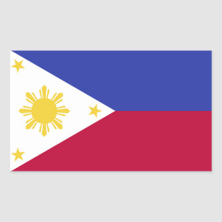 Flag of the Phillipines Sticker