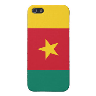 Flag of The Republic of Cameroon iPhone 5 Case