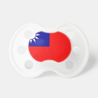Flag of the Republic of China (Taiwan) - 中華民國國旗 Baby Pacifiers