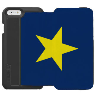 Flag of the Republic of Texas Incipio Watson™ iPhone 6 Wallet Case