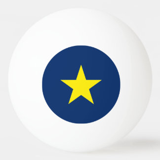 Flag of the Republic of Texas Ping Pong Ball