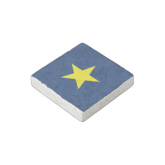 Flag of the Republic of Texas Stone Magnets