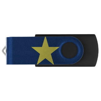 Flag of the Republic of Texas Swivel USB 2.0 Flash Drive
