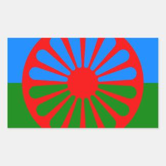 Flag of the Romani people - Romani flag