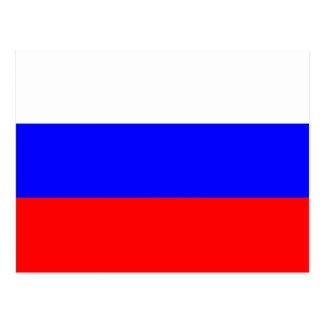 Flag of the Russian Federation - Флаг России Post Card