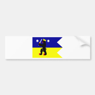 Flag of the Satakunta Region in Finland Bumper Sticker