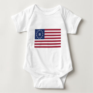 Flag of the Second American Revolution Baby Bodysuit