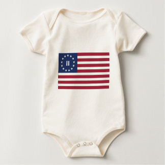 Flag of the Second American Revolution Bodysuits