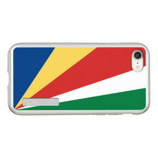 Flag of the Seychelles Silver iPhone Case