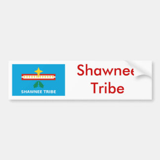 Flag of The Shawnee Tribe Bumper Sticker