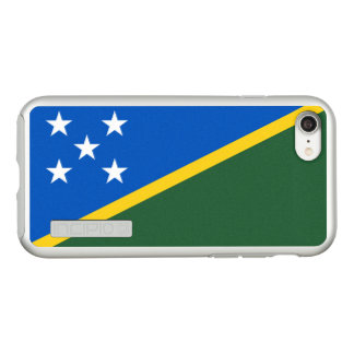 Flag of the Solomon Islands Silver iPhone Case