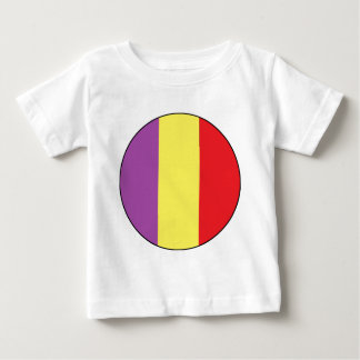 Flag of the Spanish Republic - Bandera Tricolor Baby T-Shirt