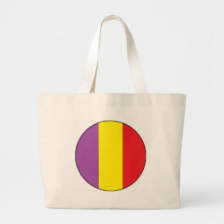 Flag of the Spanish Republic - Bandera Tricolor Large Tote Bag