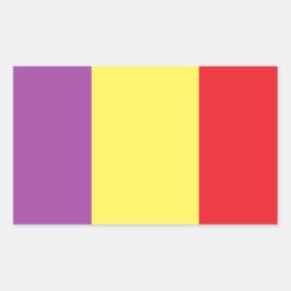 Flag of the Spanish Republic - Bandera Tricolor Sticker