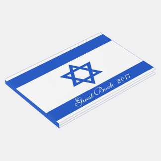 Flag of the State of Israel Guest Book